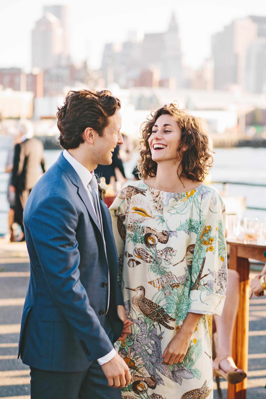 laura john wedding massachusetts guests