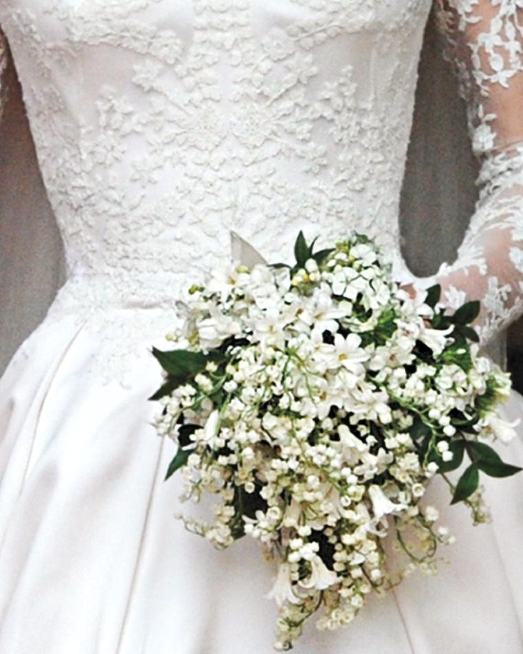 Свадебные букеты королевских свадеб