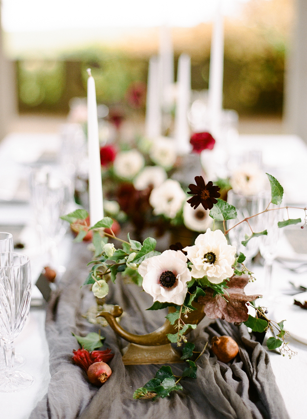 French Horn Centerpieces