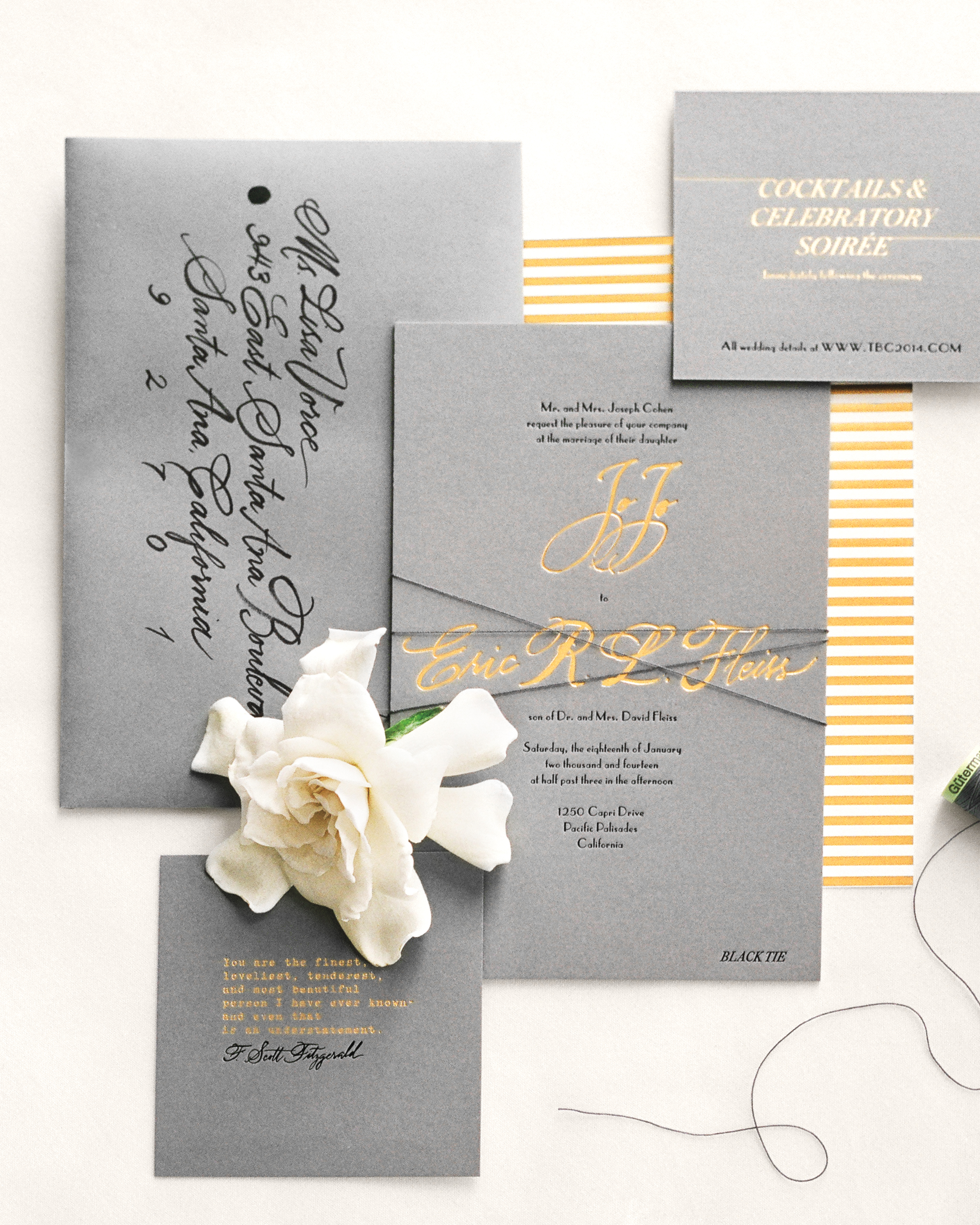 34 Unexpected Winter Wedding Invitations