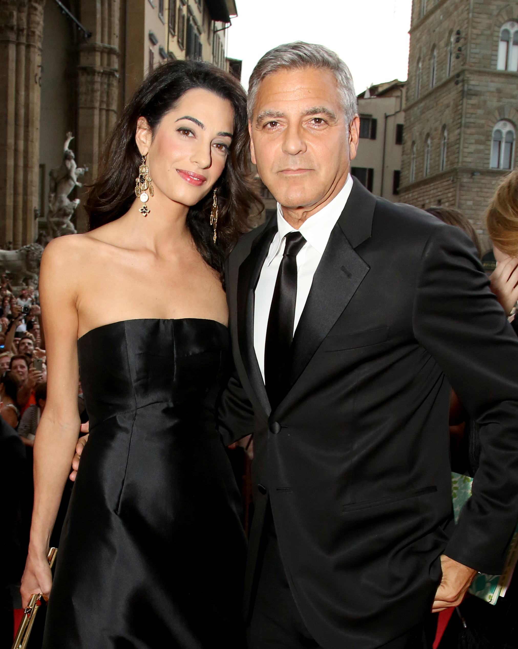 George Clooney to Amal Clooney