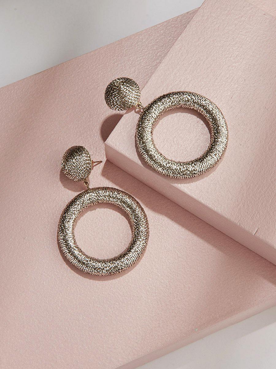 bridesmaid gift shimmer drop earrings