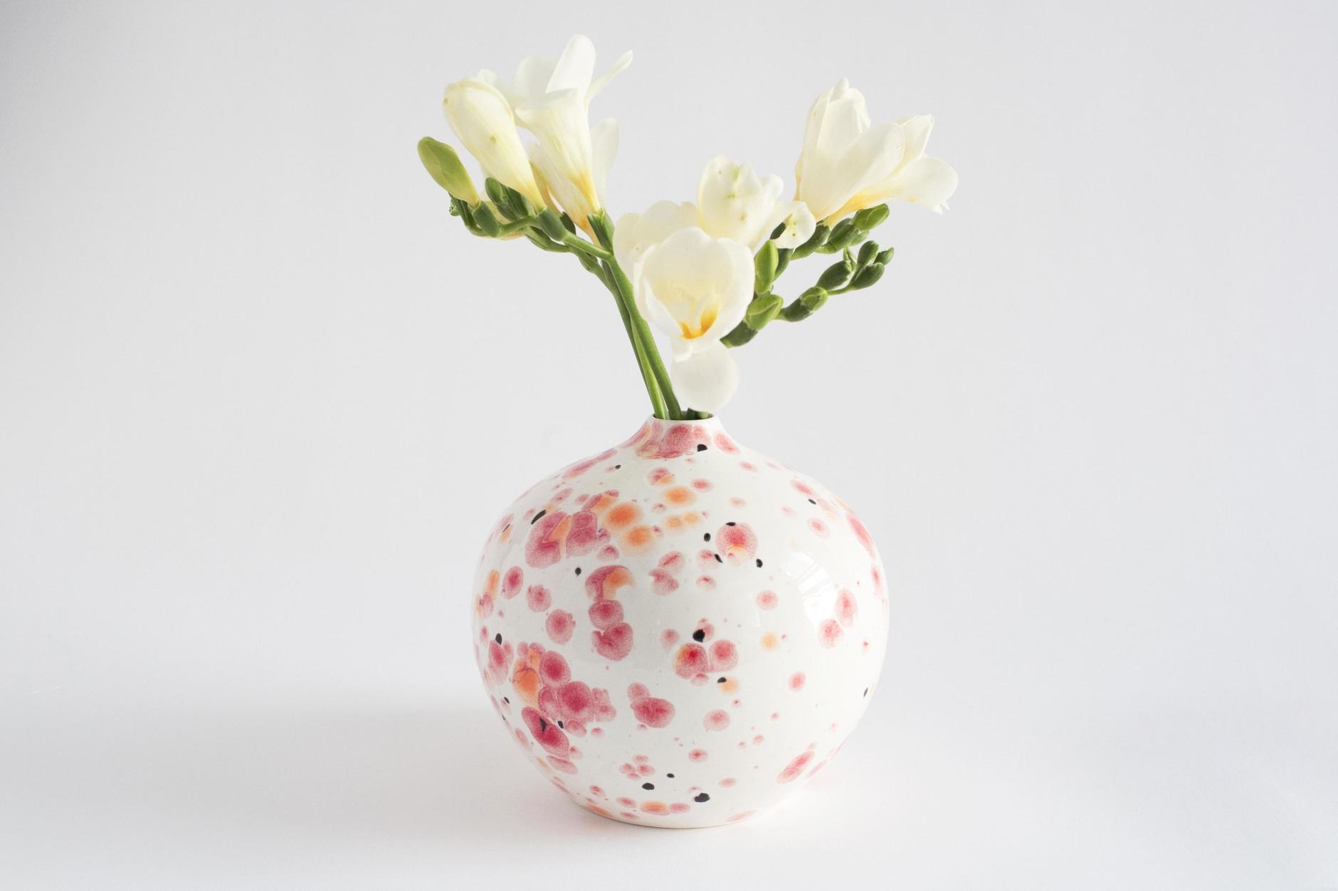 bridesmaid gift flowering vase