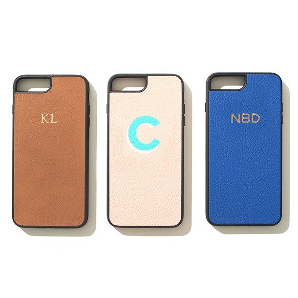 leatherology monogrammed phone case