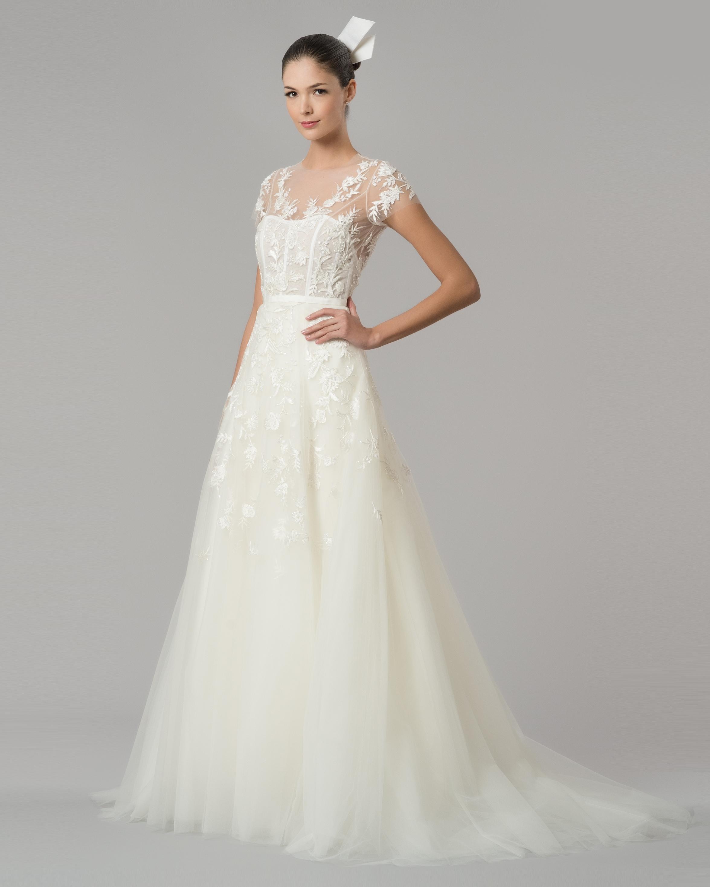 Carolina Herrera Wedding Dress.Carolina Herrera Fall 2015 Bridal Collection Martha