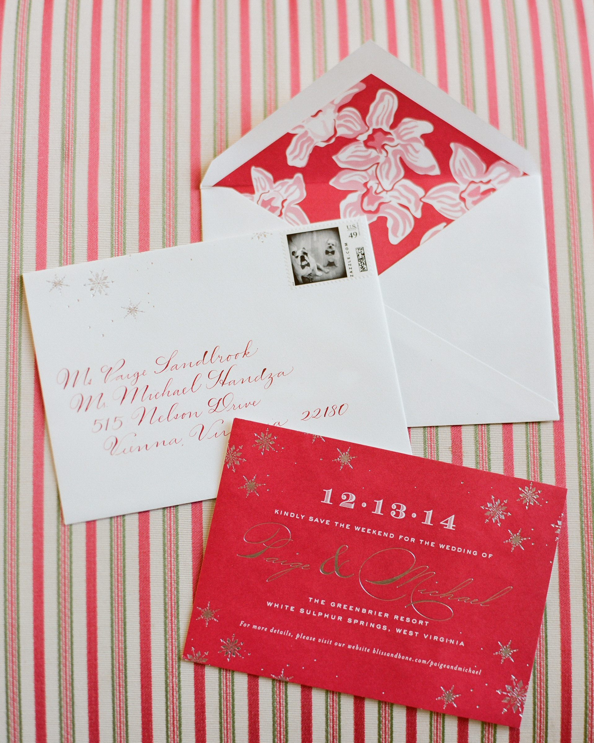 Festive Save-the-Dates
