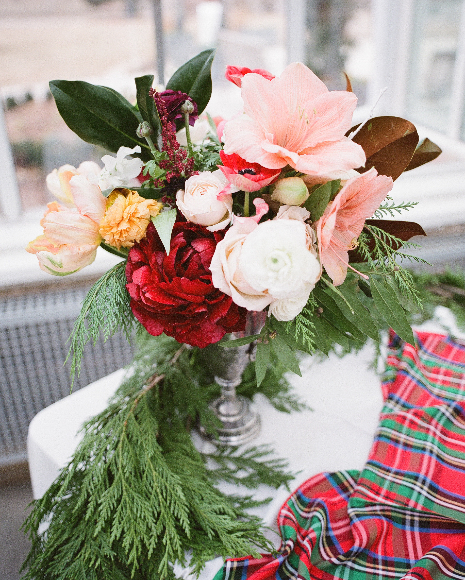 Christmas Flower Favors