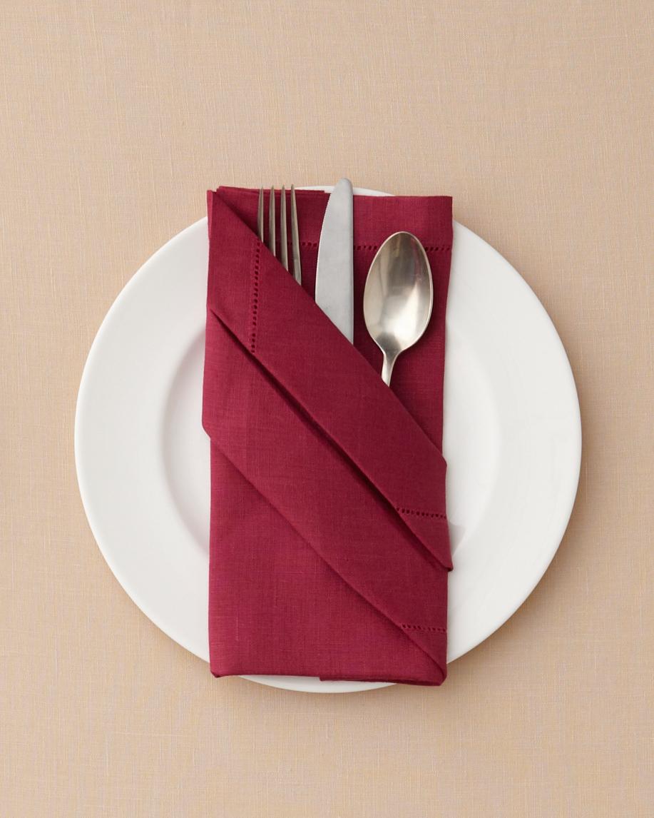 Buffet Napkin Fold