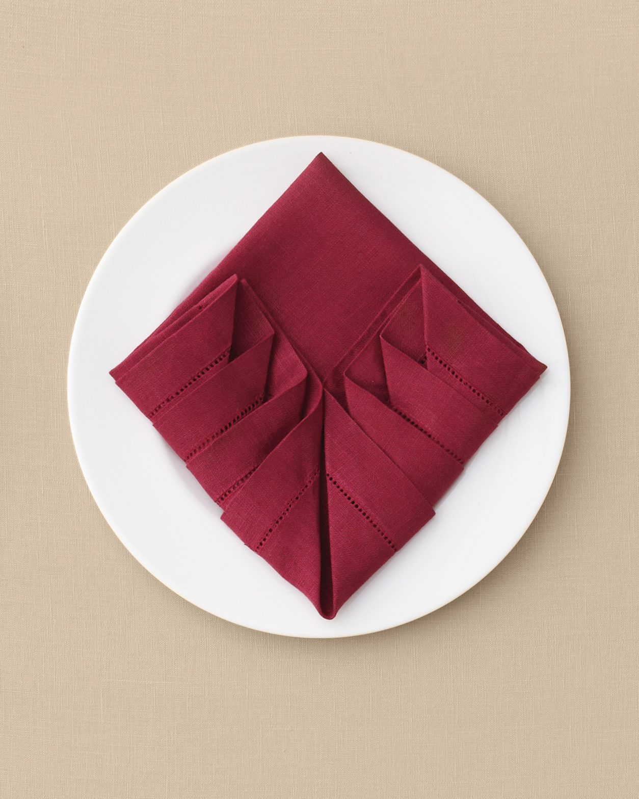 Pleated Napkin Fold