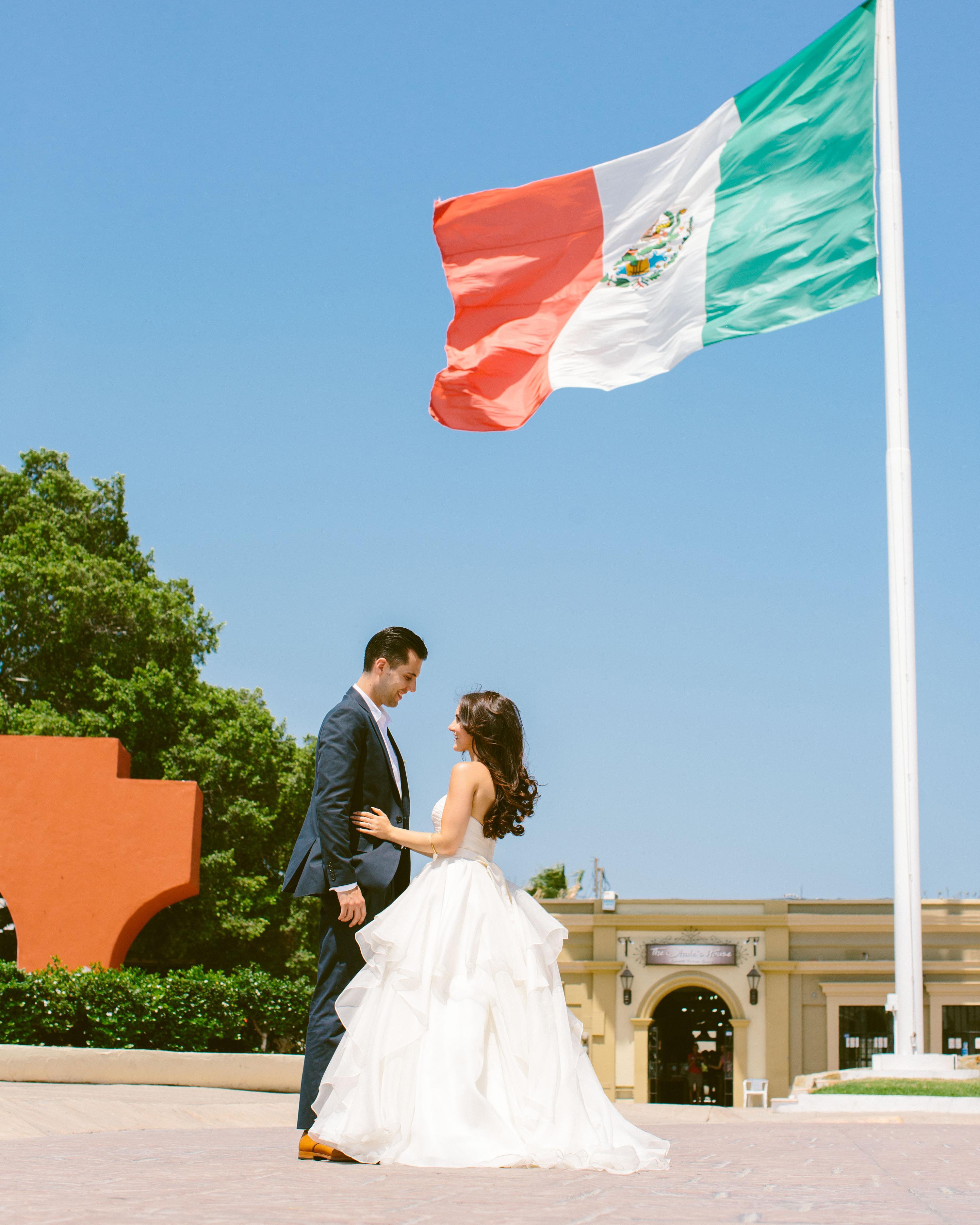 c161426070342 Ali and Jess's Intimate Cabo Wedding | Martha Stewart Weddings