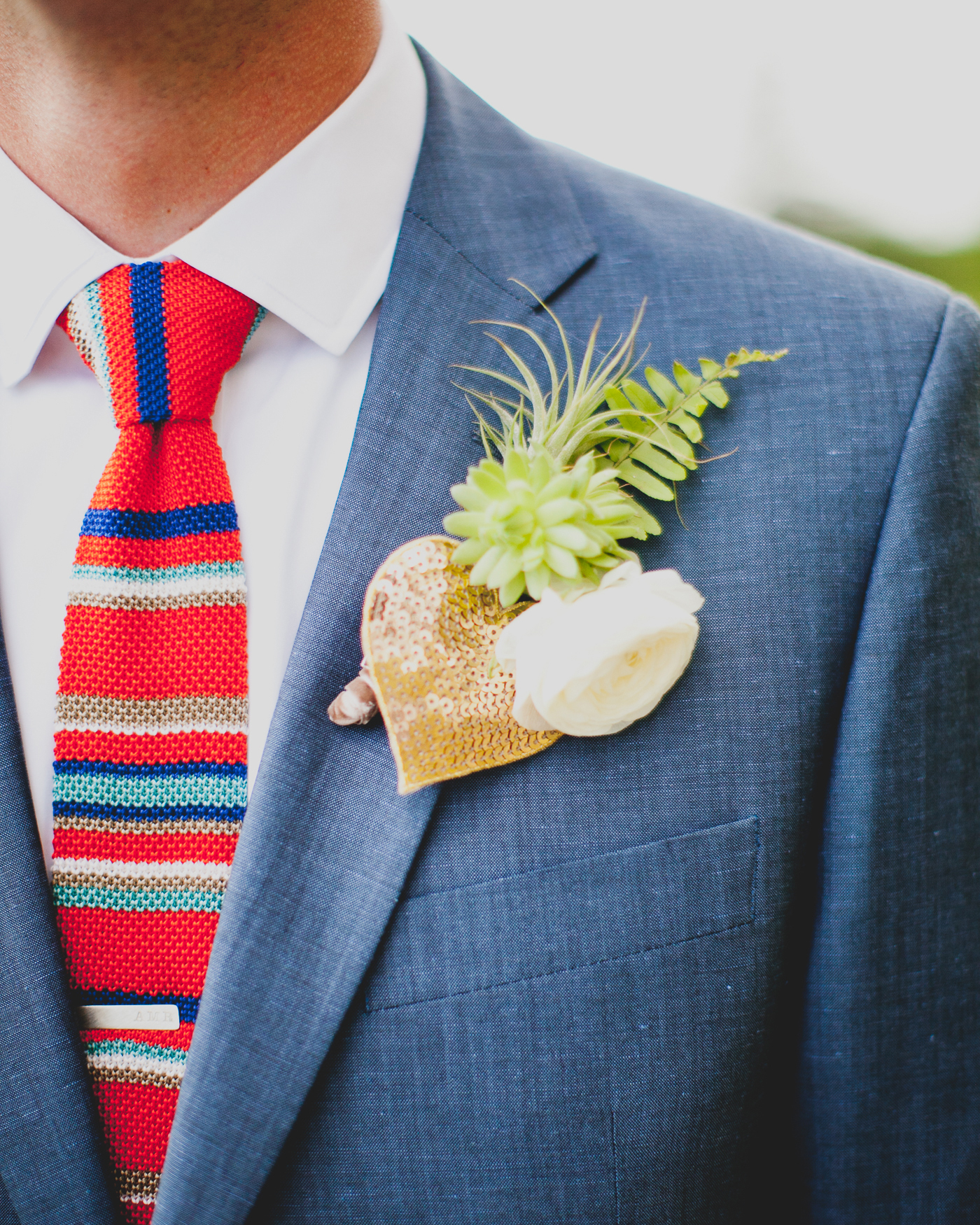 Heart-Shaped Boutonnière