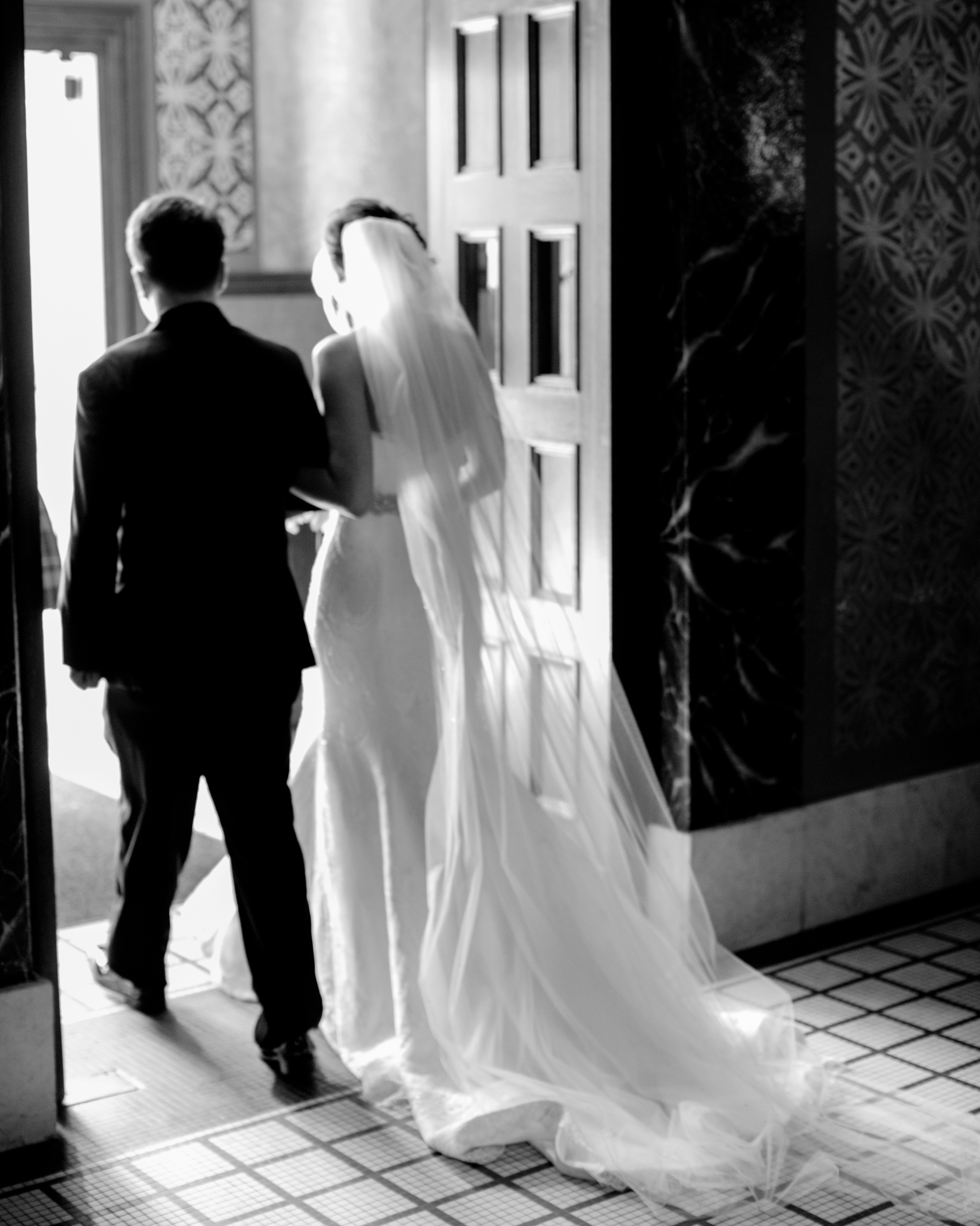 The Newlyweds' Exit