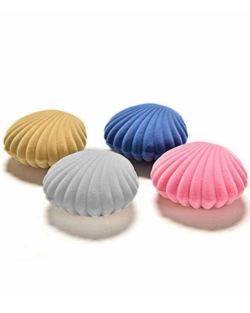 ring boxes velvet shells
