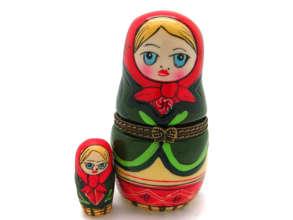 ring boxes russian nesting dolls