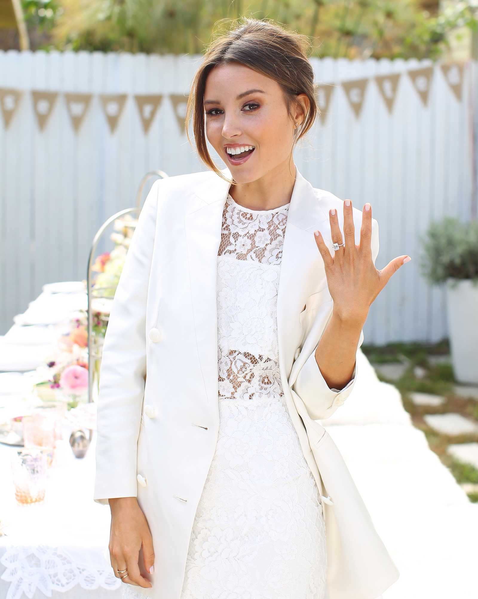 A Shabby-Chic Party for Blogger and Bride-to-Be Geri Hirsch