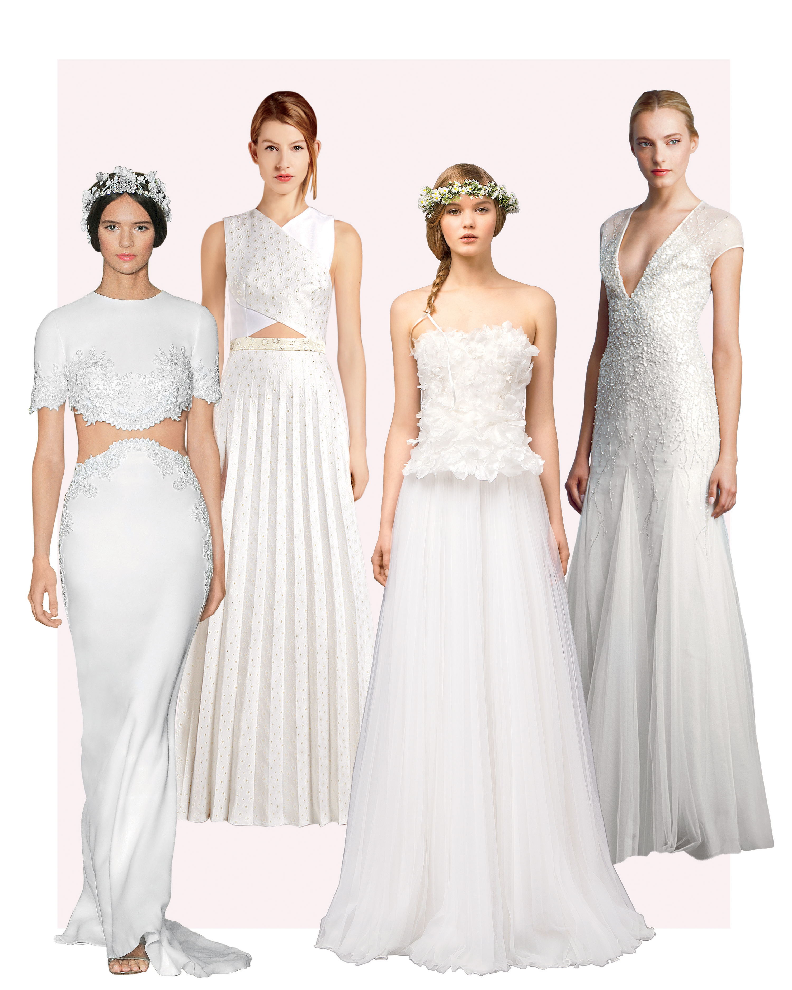 4 Wedding Dress Trends to Inspire Your Big-Day Look