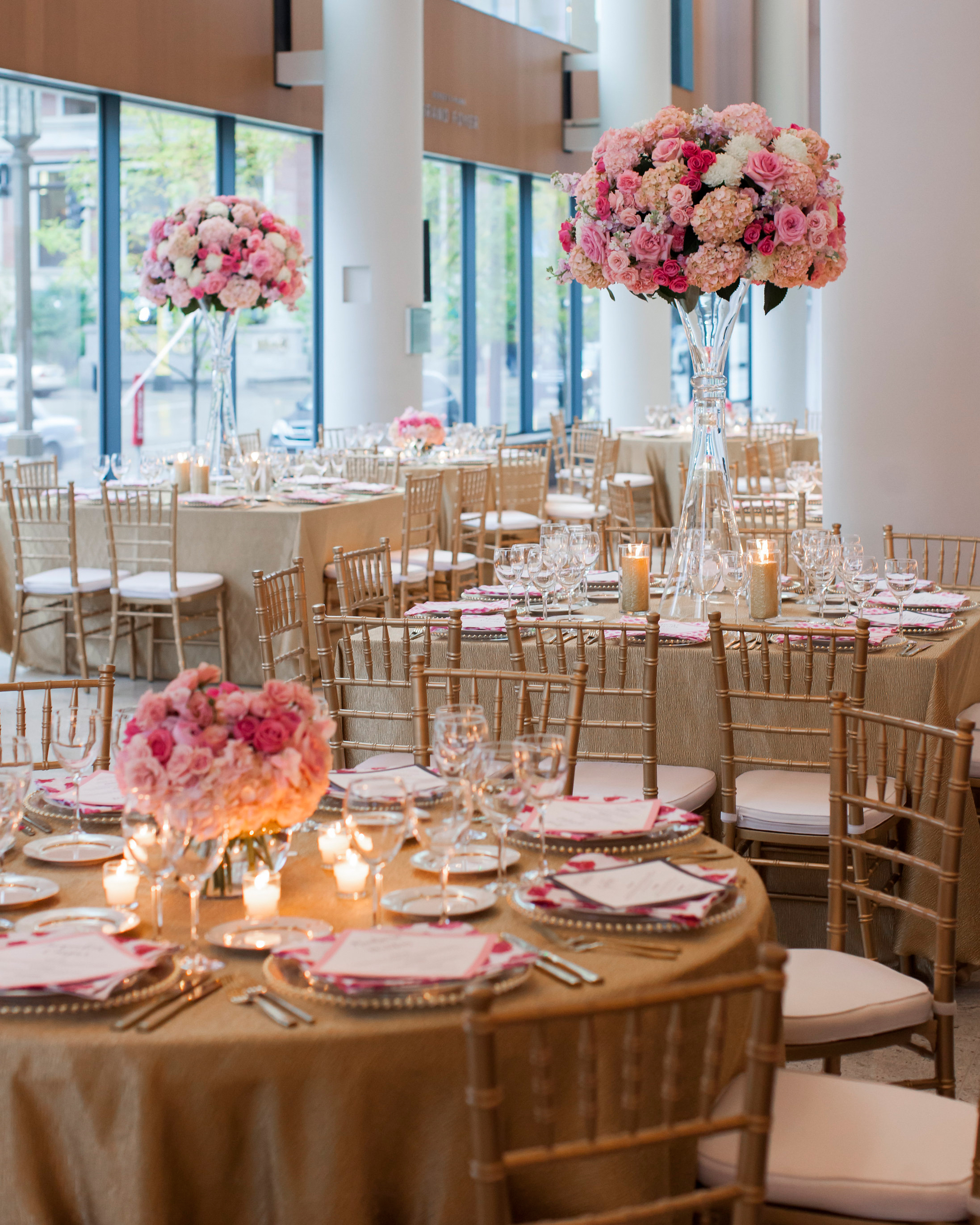 The Reception Décor