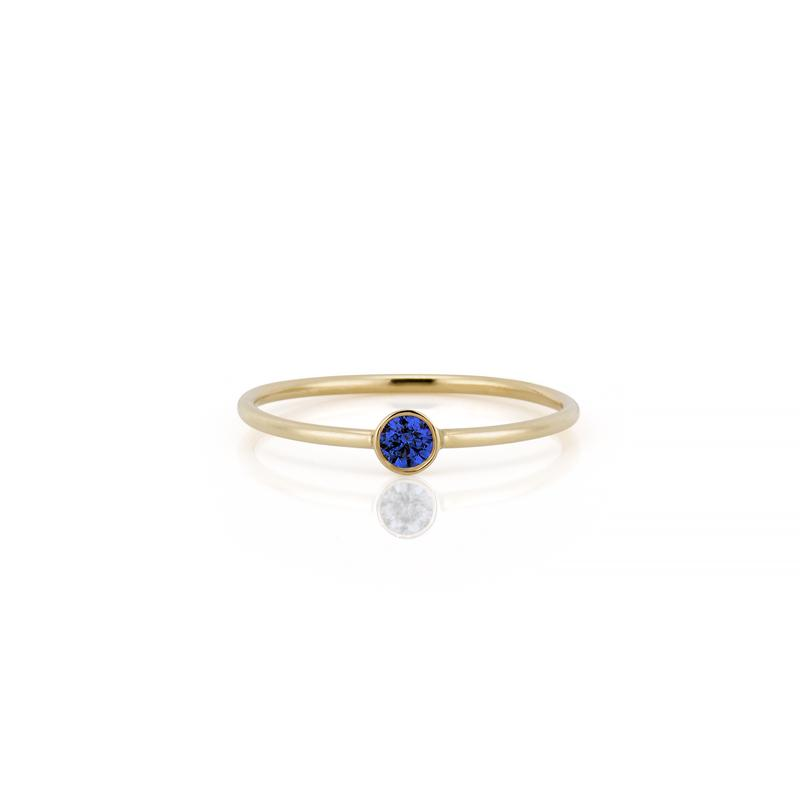 SLDA Collection Stackable Birthstone Ring