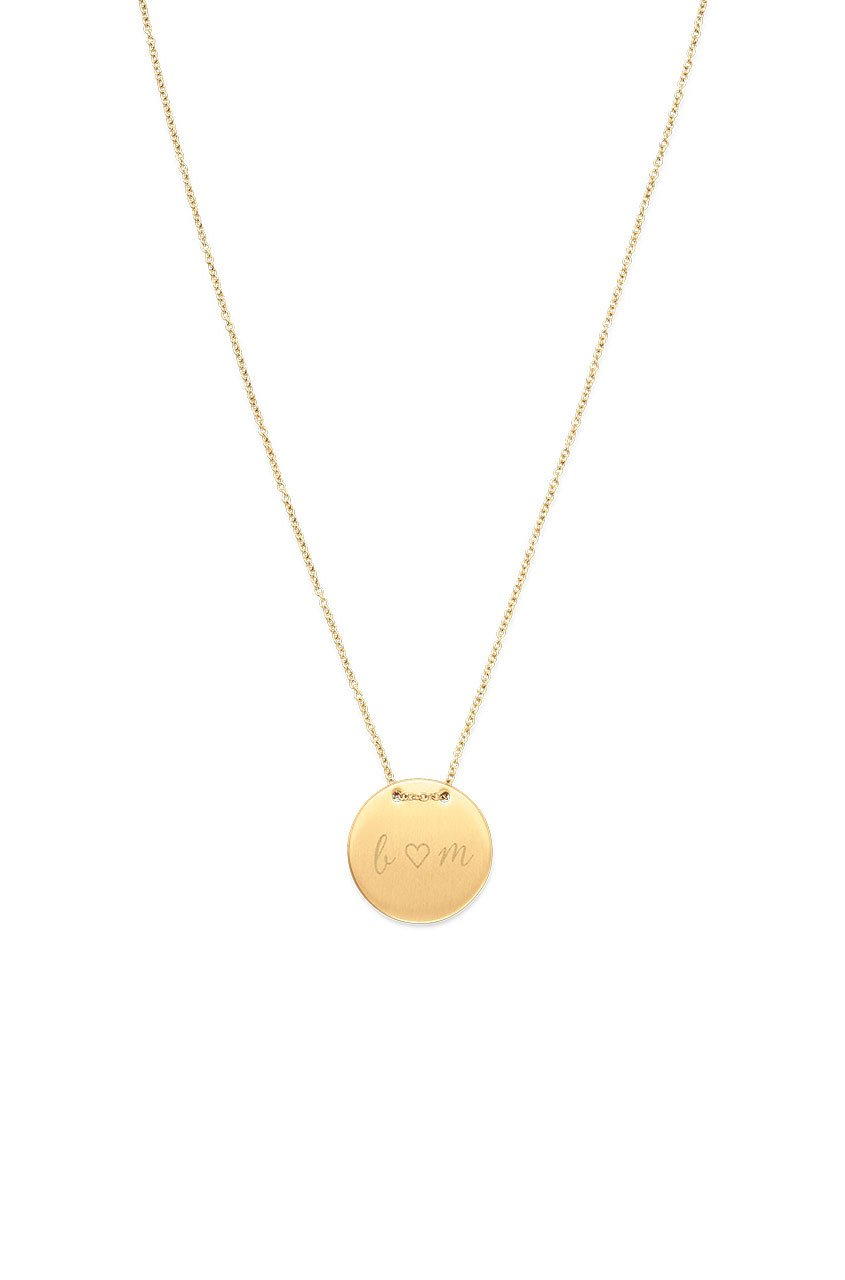 Keep Collection Engraveable Necklace, Gifts for Mom