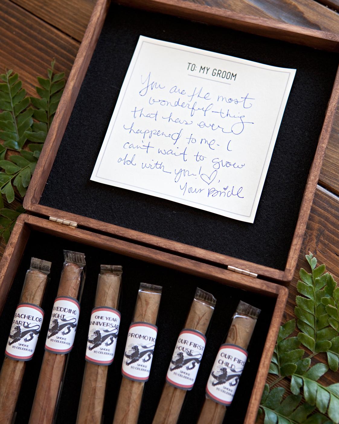 Groom's Cigar Box