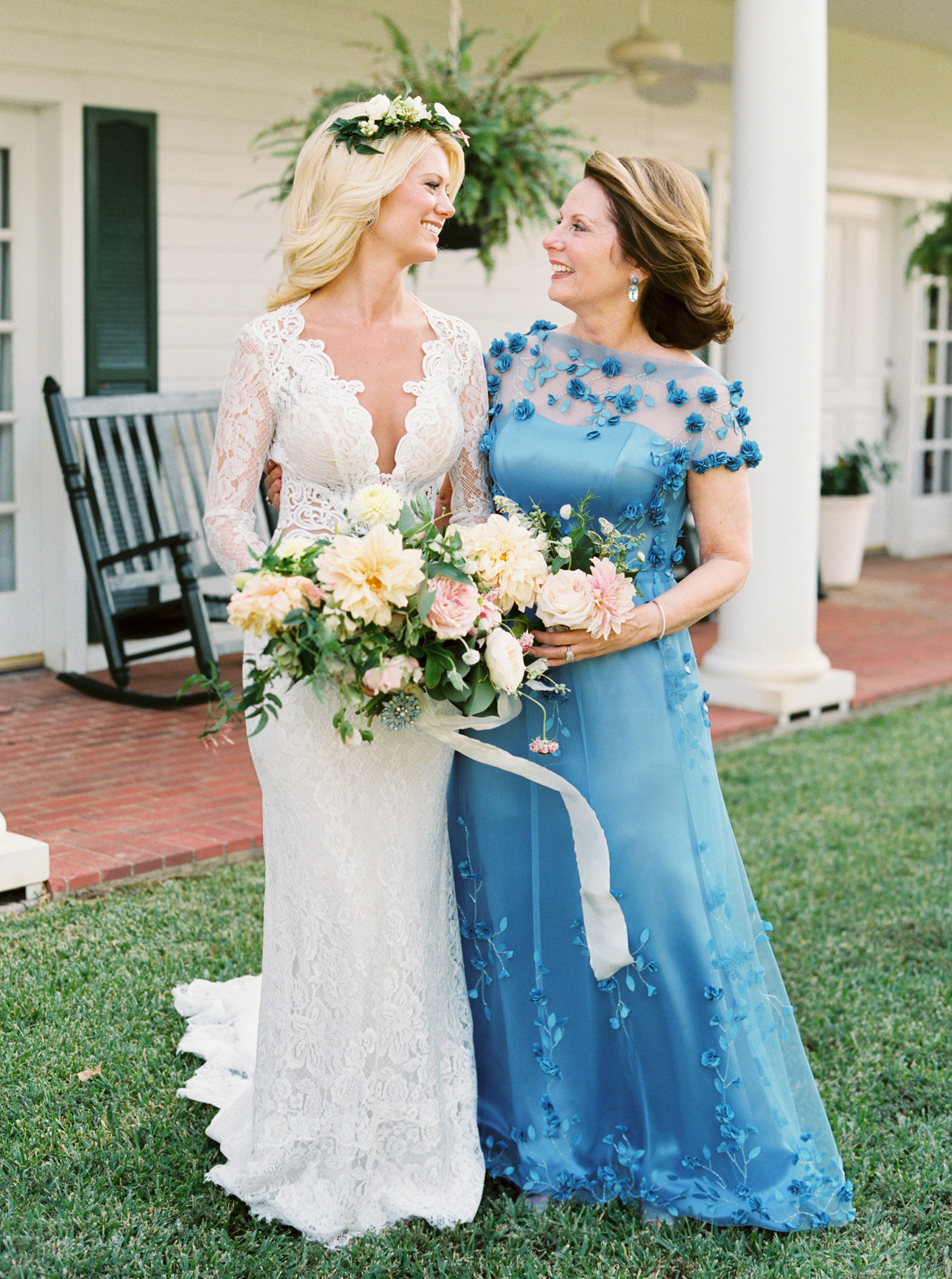 Mother-of-the-Bride and-Groom Dresses We Love for a Spring Wedding