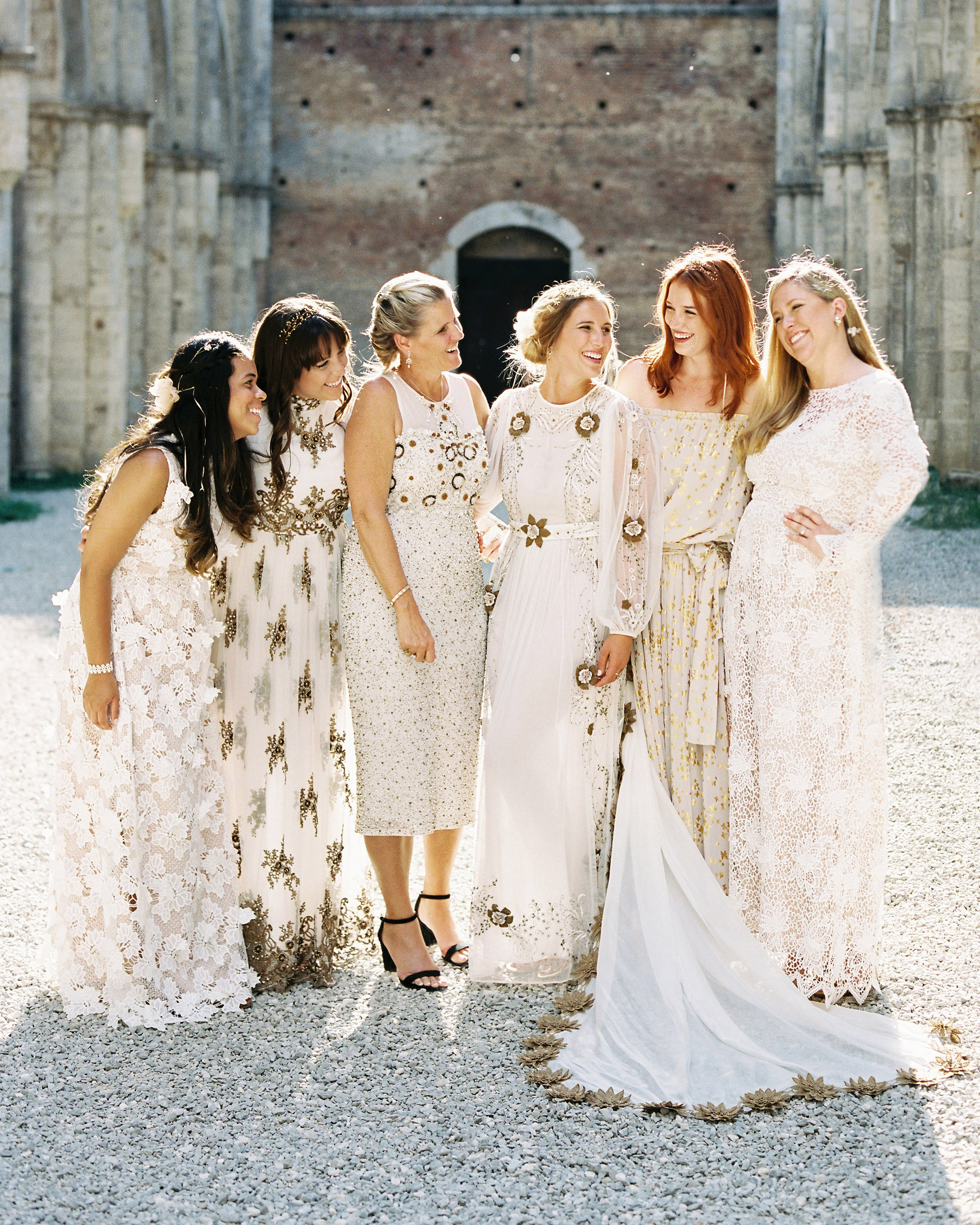 Should you be hands-on with the bridesmaids?