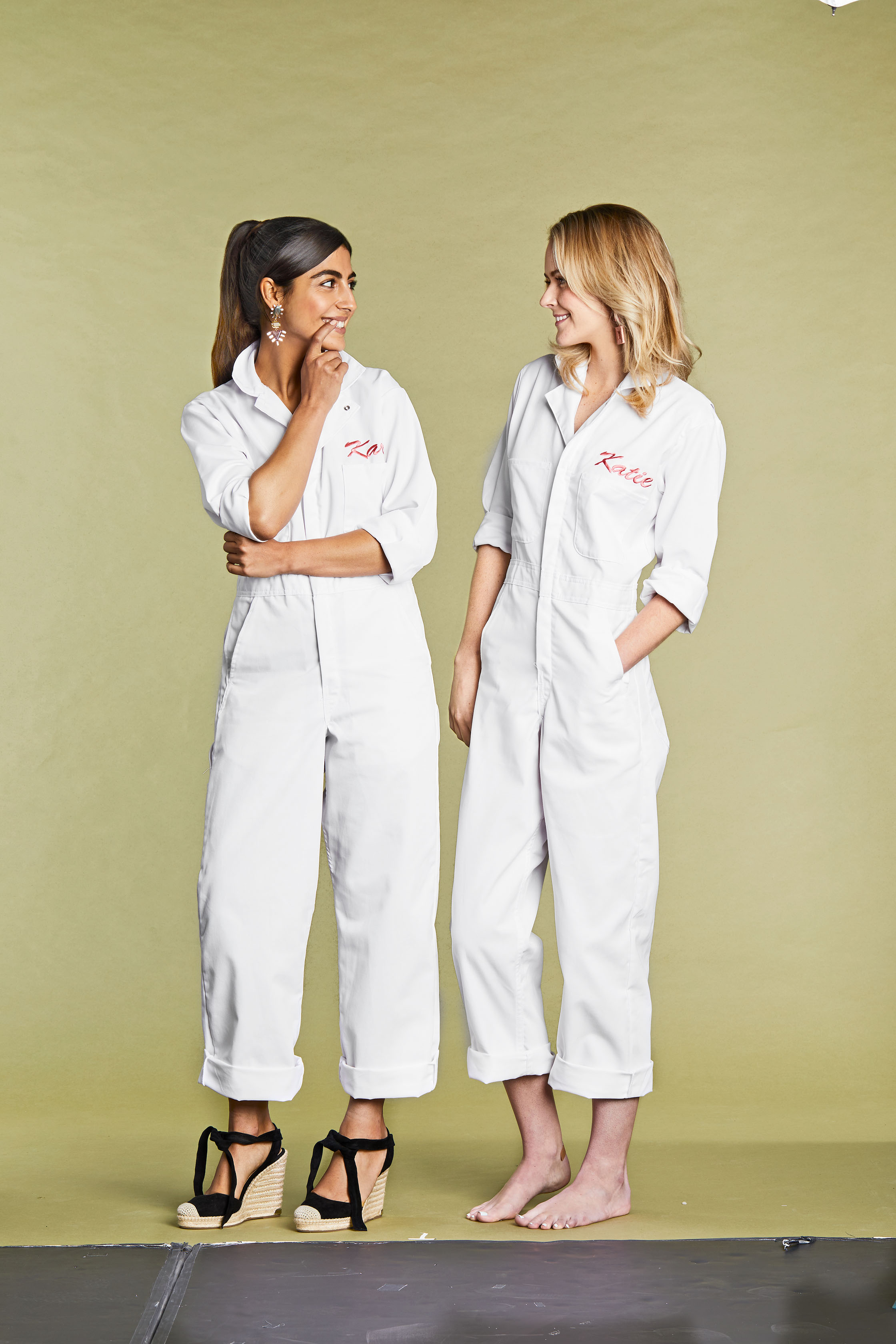 Embroidered Jumpsuits