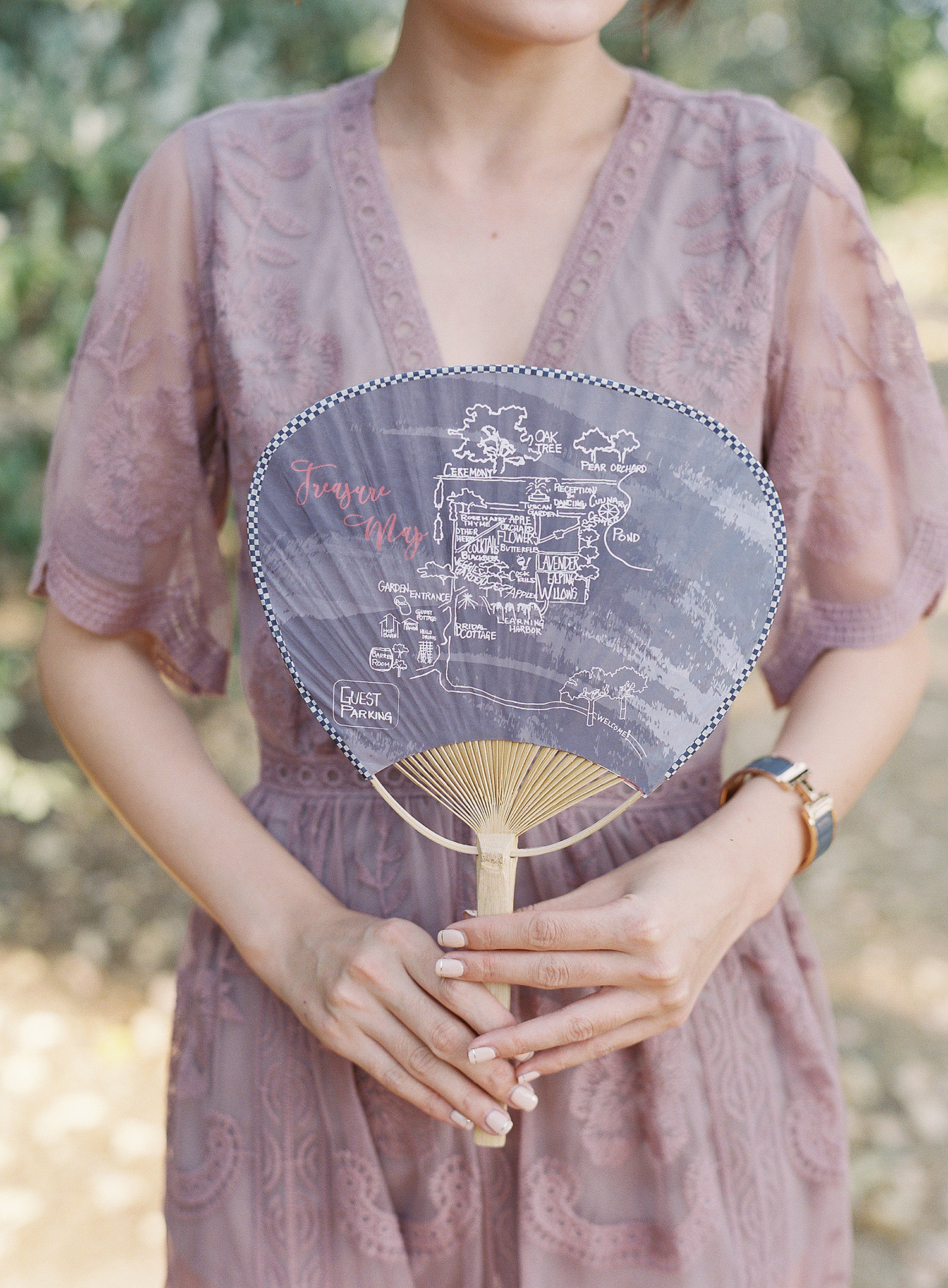 22 Wedding Ceremony Program Fans to Help Keep Guests Cool