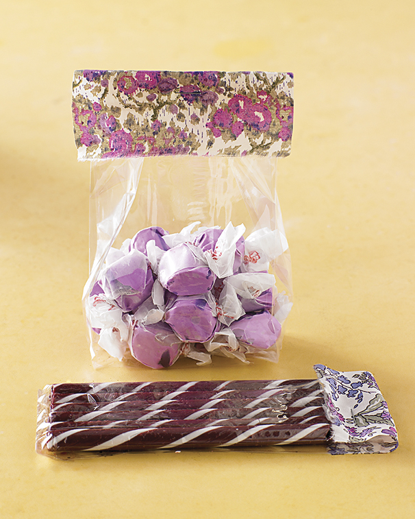 Fabric-Tabbed Treats