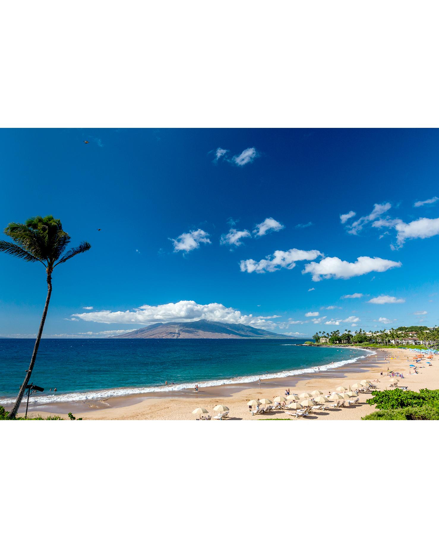 Wailea Beach in Maui, Hawaii
