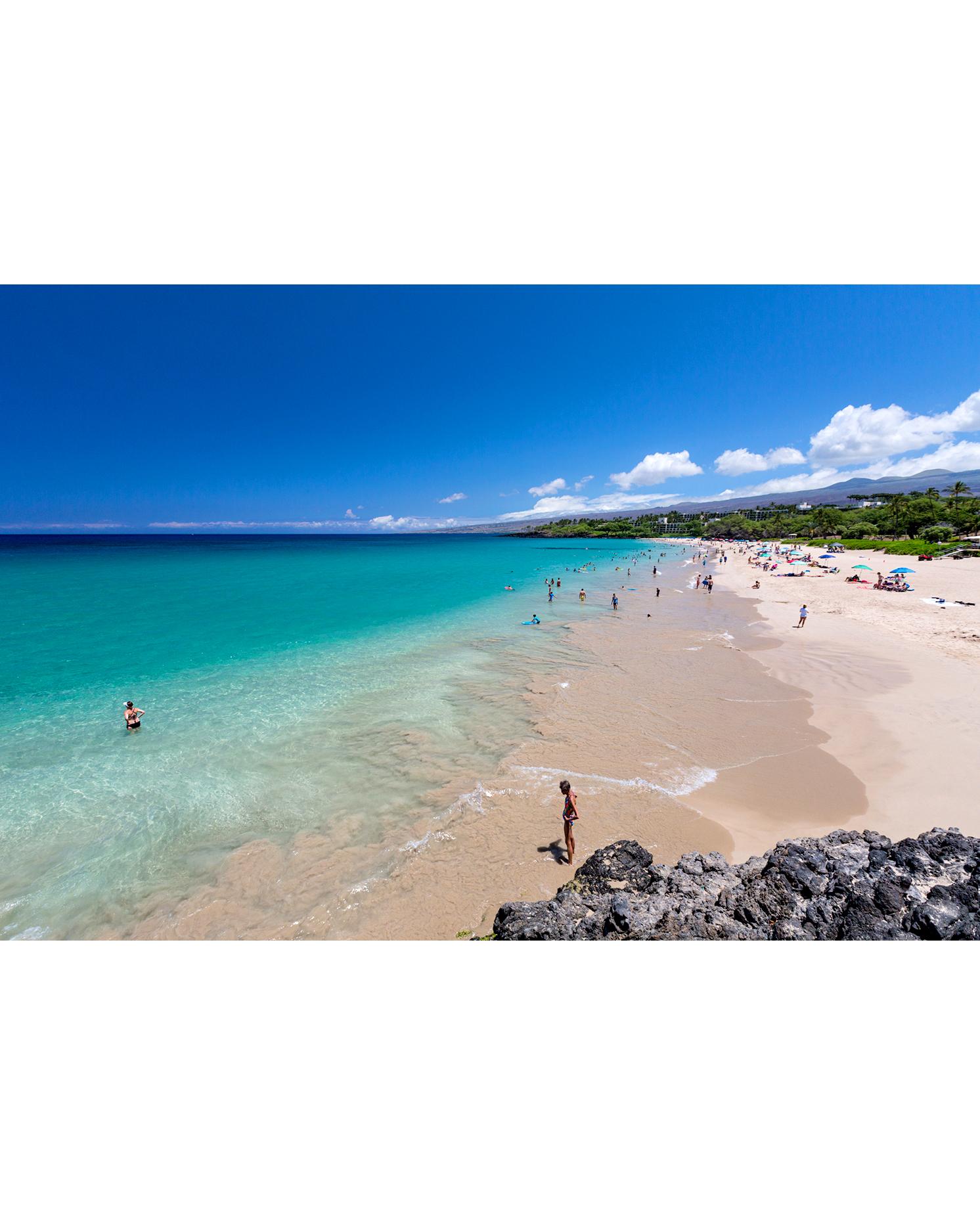 Hapuna Beach in Hawaii