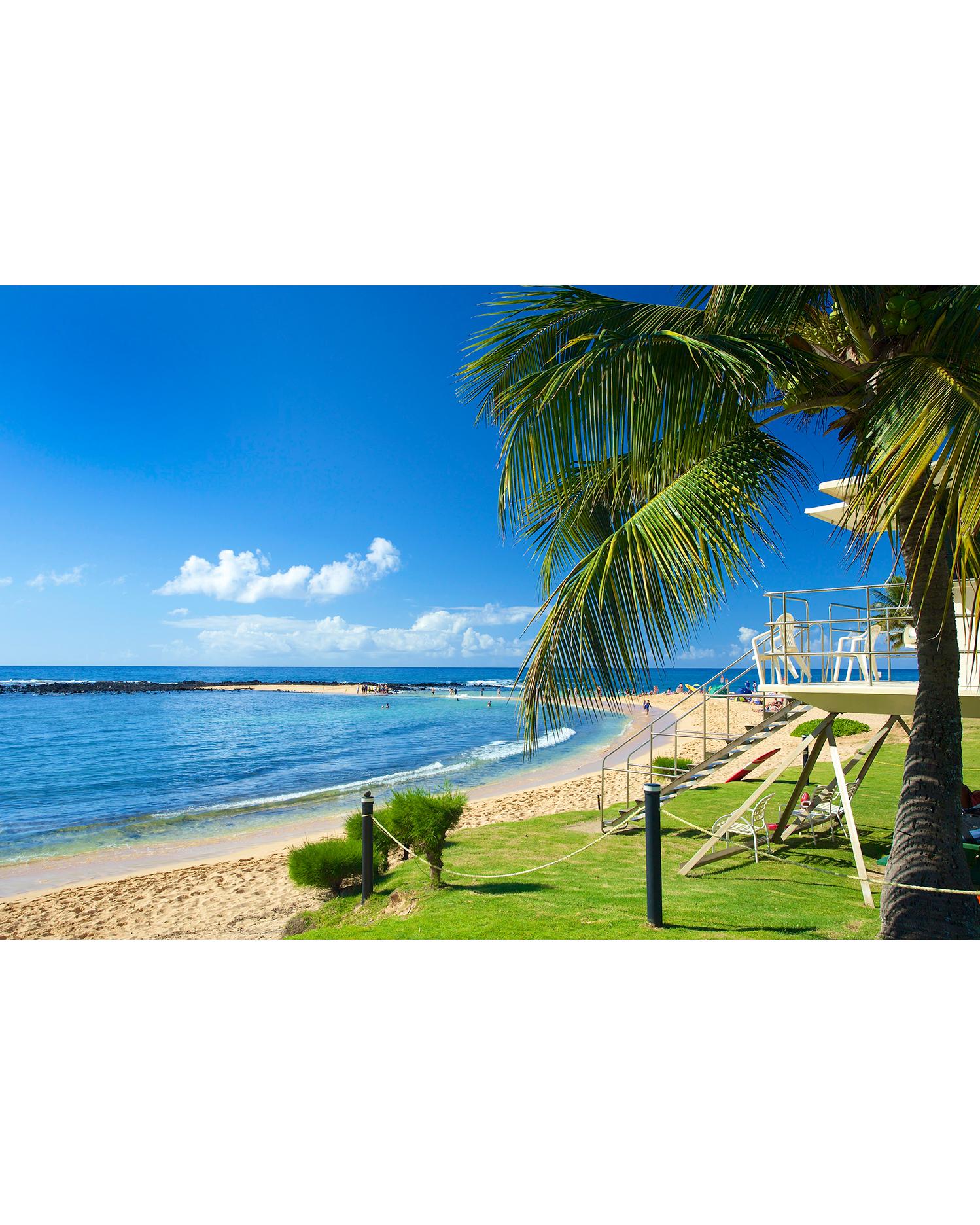 Poipu Beach Park in Kauai, Hawaii