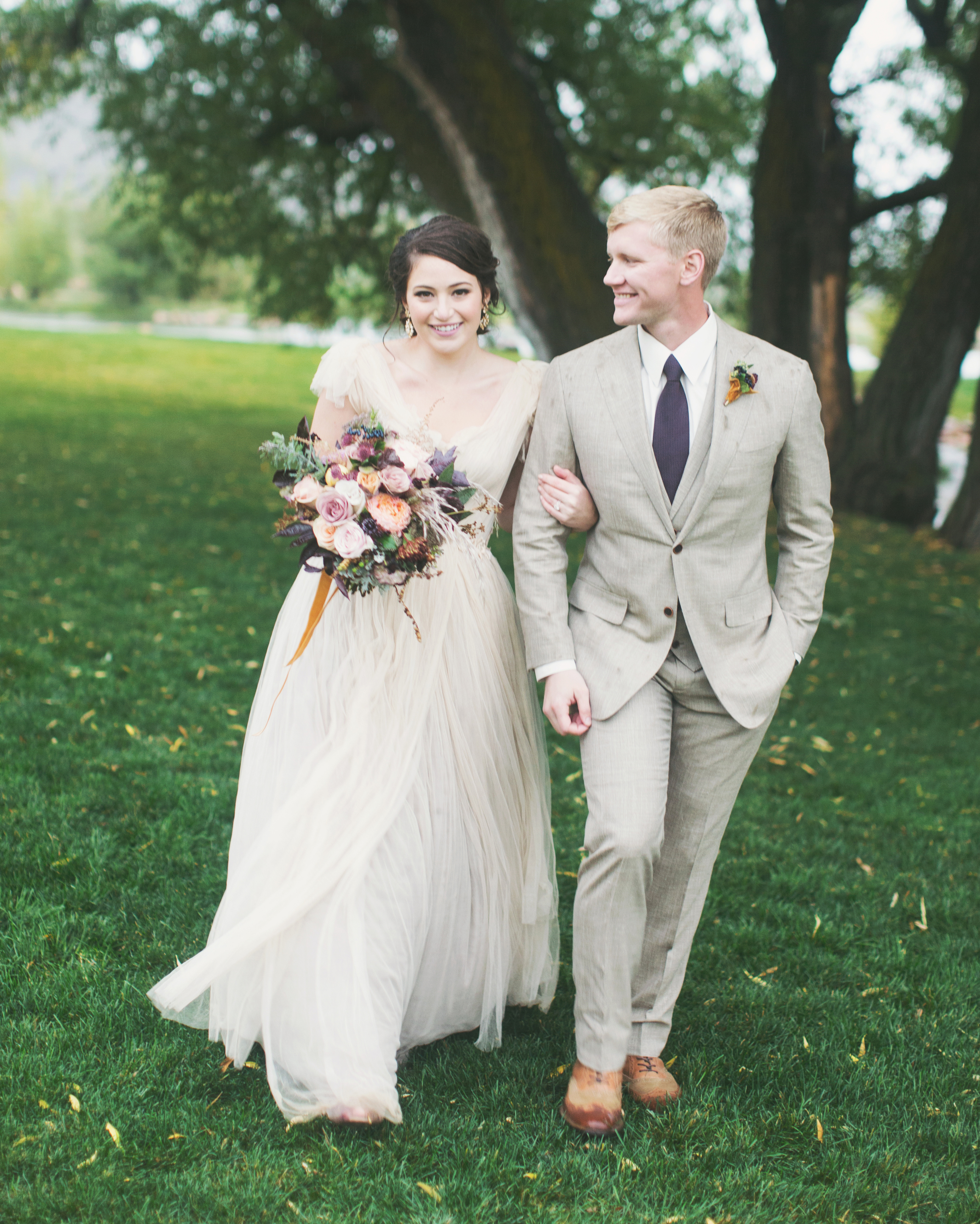 Sara And Matthew S Utterly Romantic Utah Wedding Martha