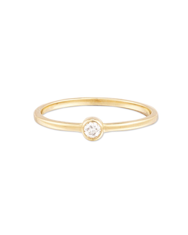 Mejuri Diamond Solo Ring