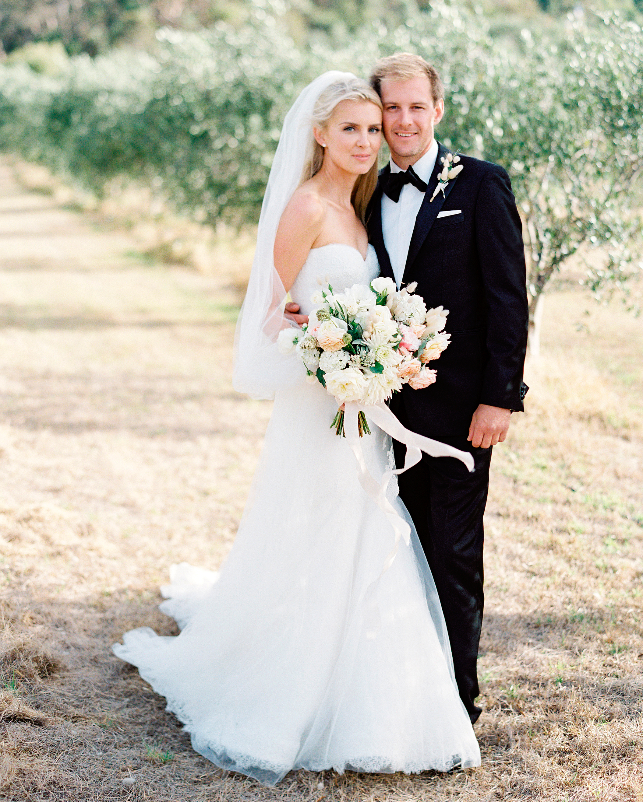 Jemma And Michael's Romantic Black-Tie Wedding In An