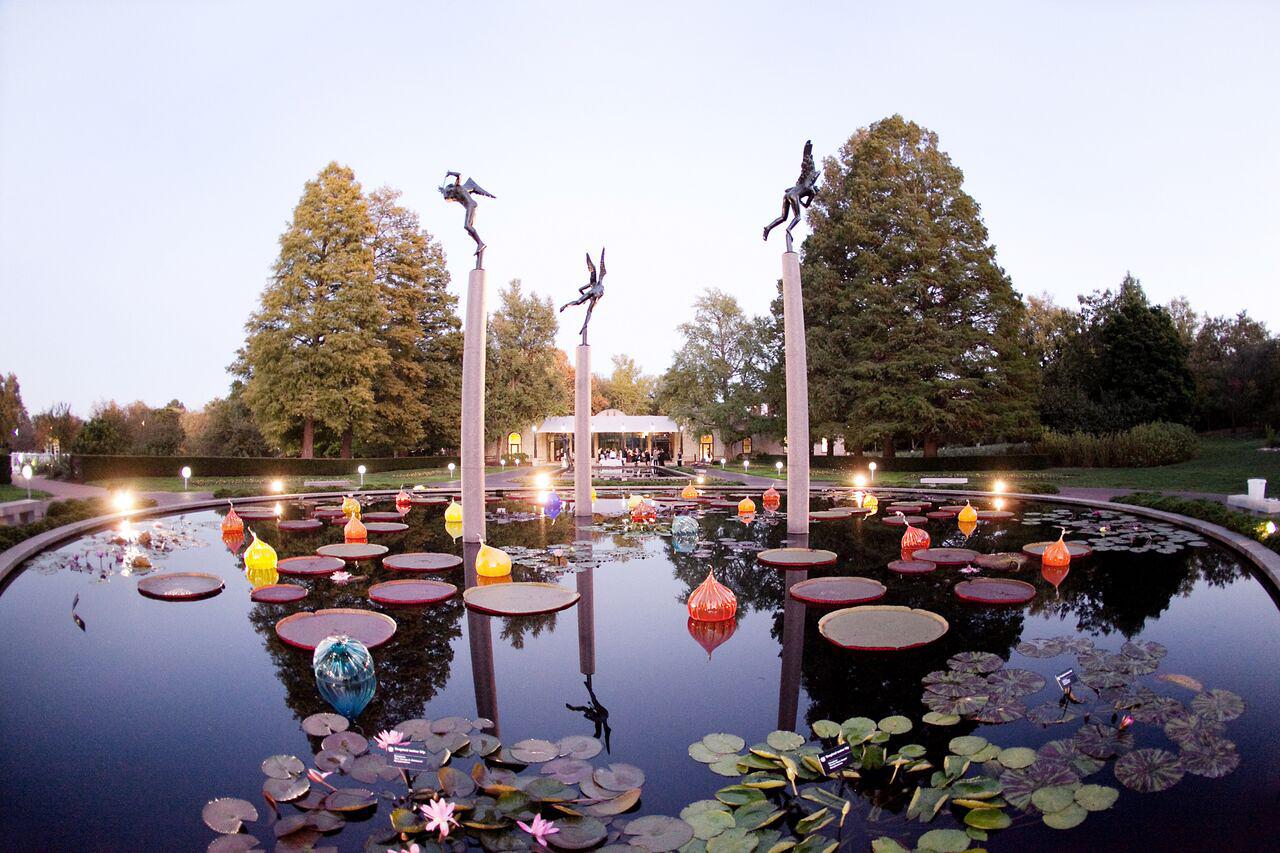 fountain botanical gardne