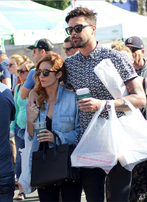 Brittany Snow and Boyfriend Tyler Stanaland