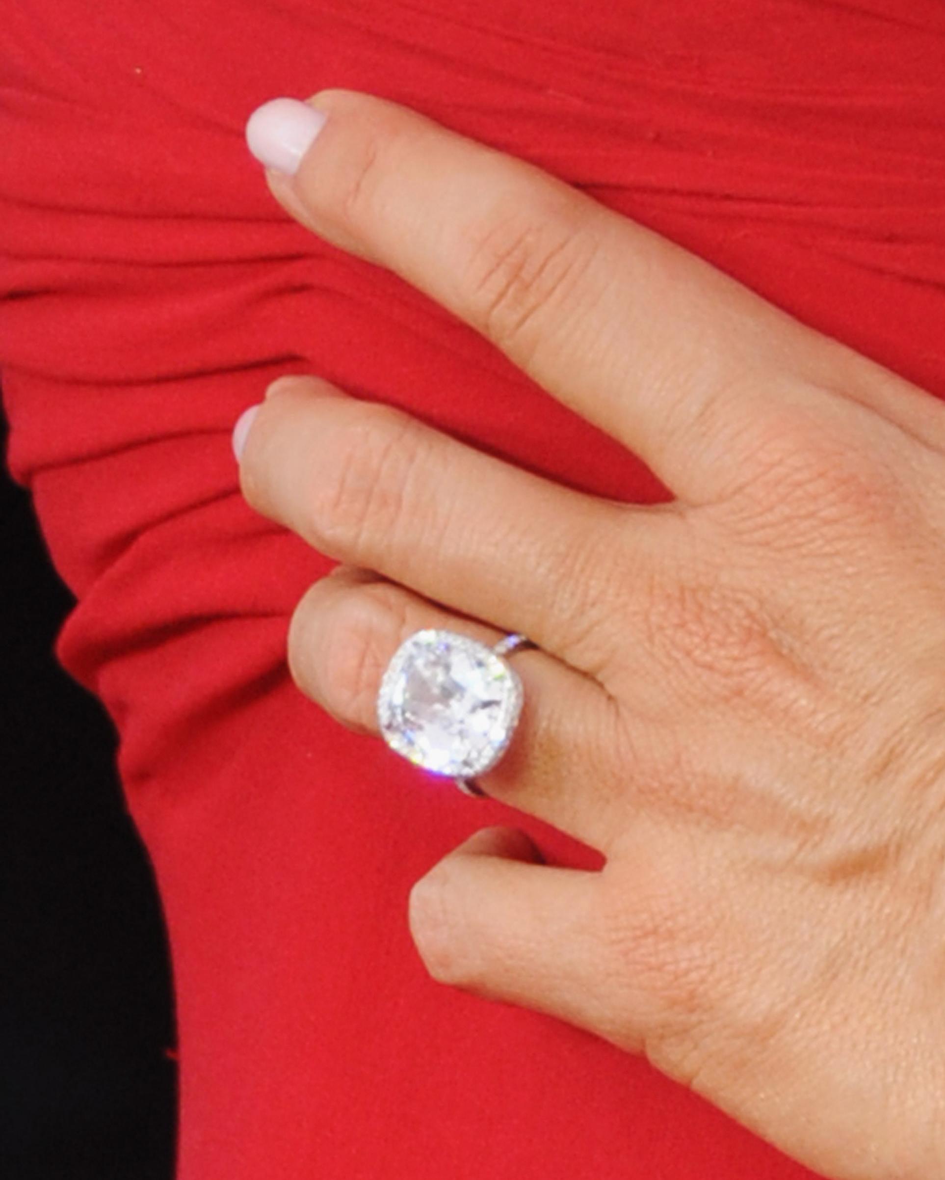 73 Amazing Celebrity Engagement Rings   Martha Stewart Weddings