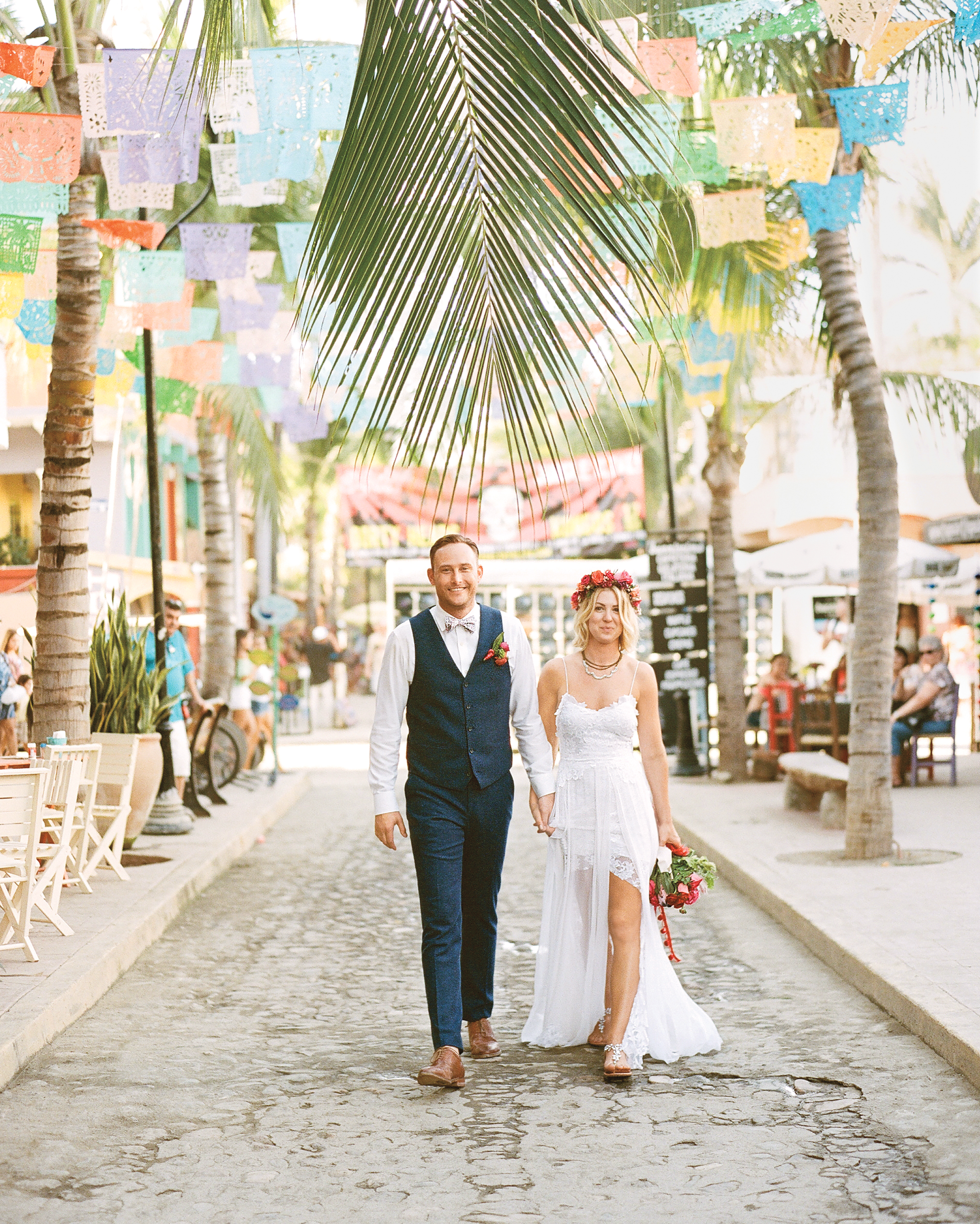 This Mexico Wedding Was Bursting with Bold Colors