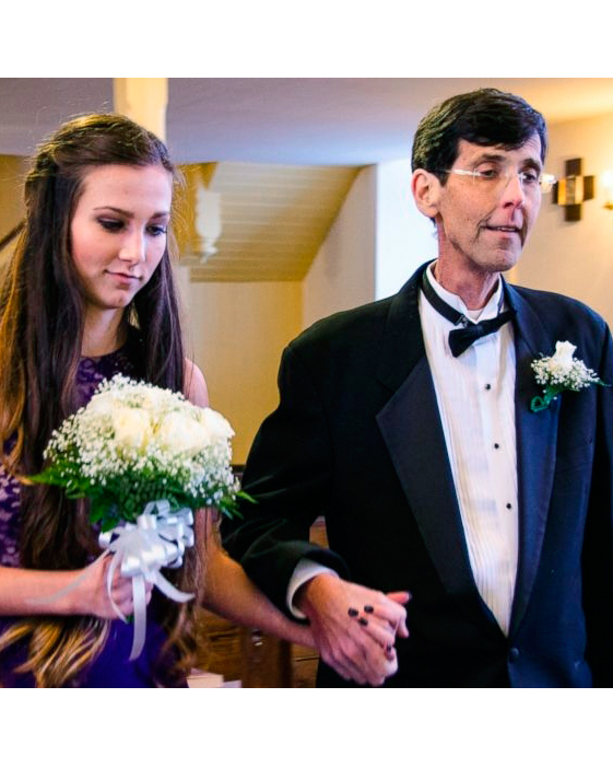 This Family Staged a Faux Wedding So Their Dying Dad Could Walk His Kids Down the Aisle