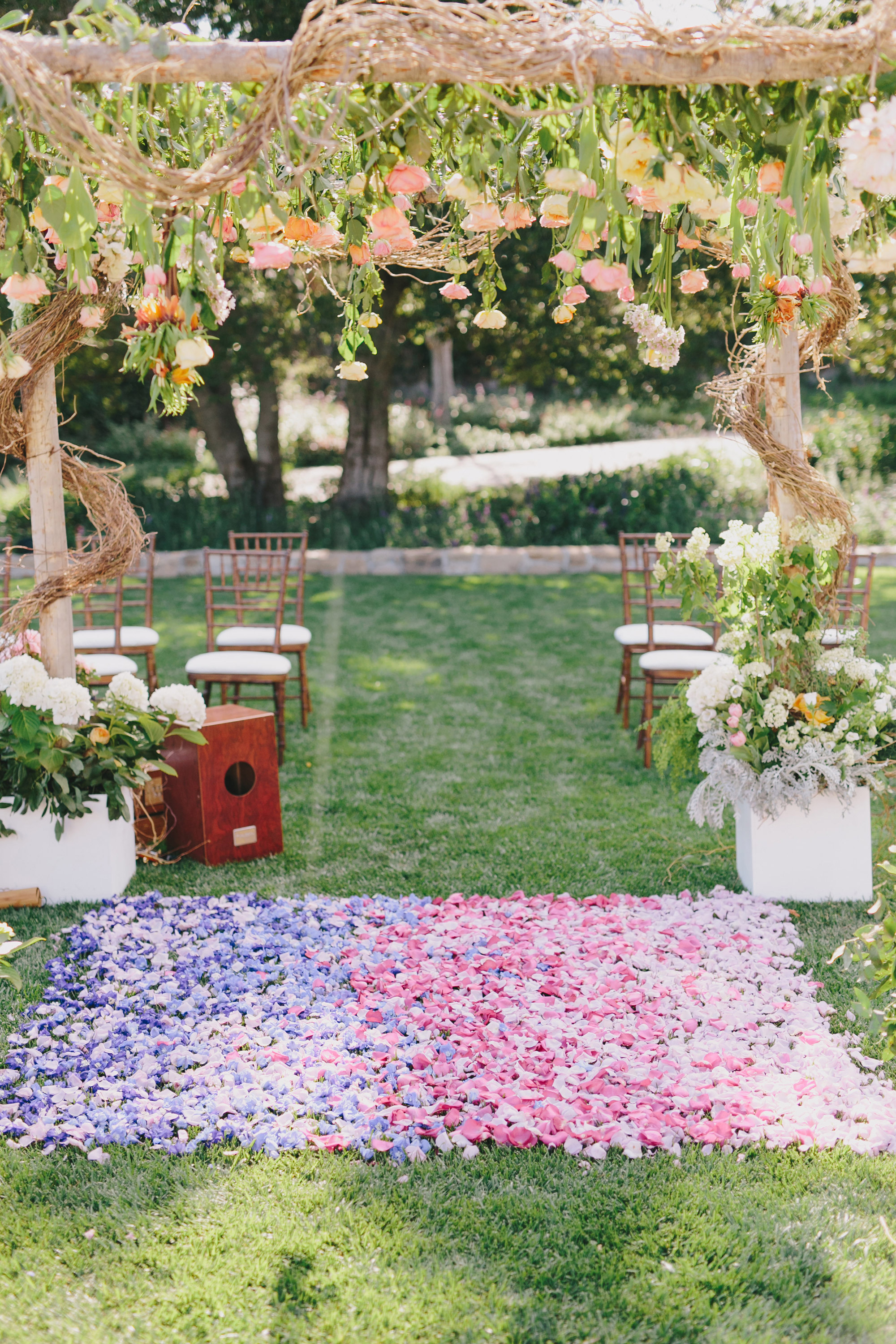 summer ceremony ideas jake and necia