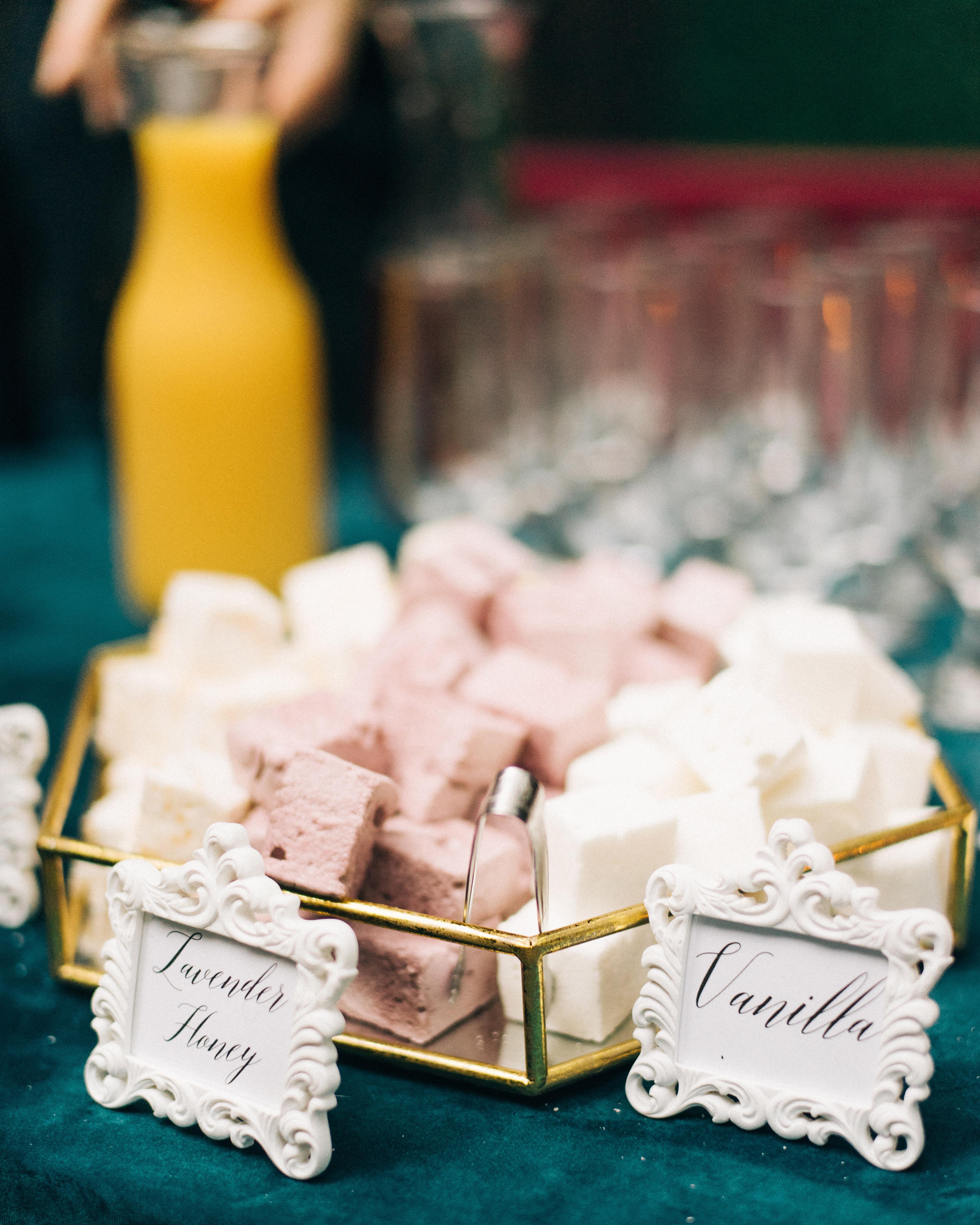 summer reception ideas smores snacks