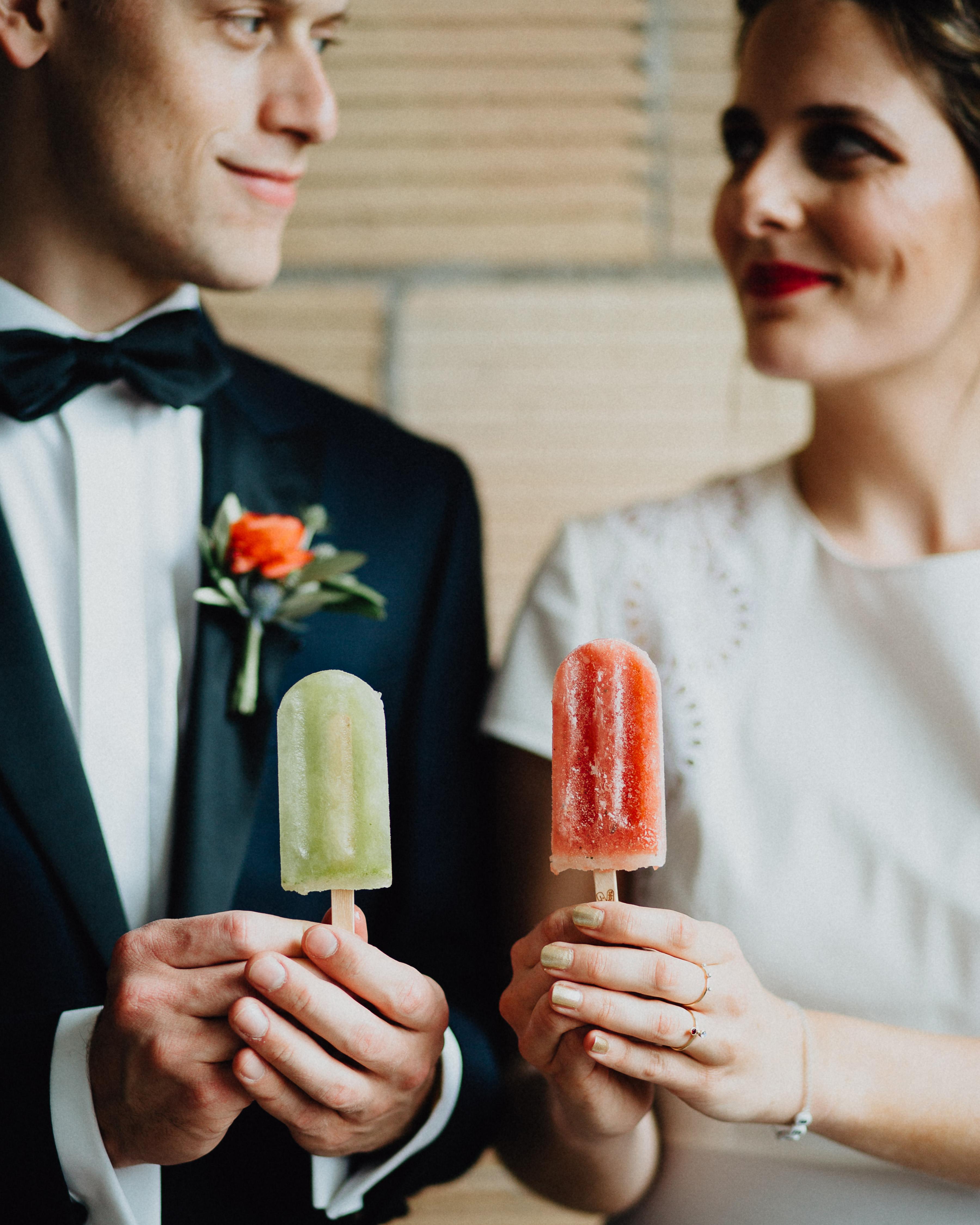 summer reception ideas reception popsicles