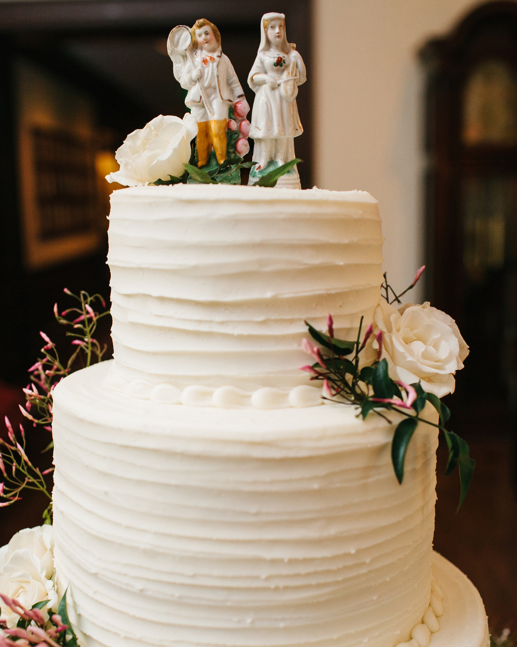 Serving a Wedding Cake