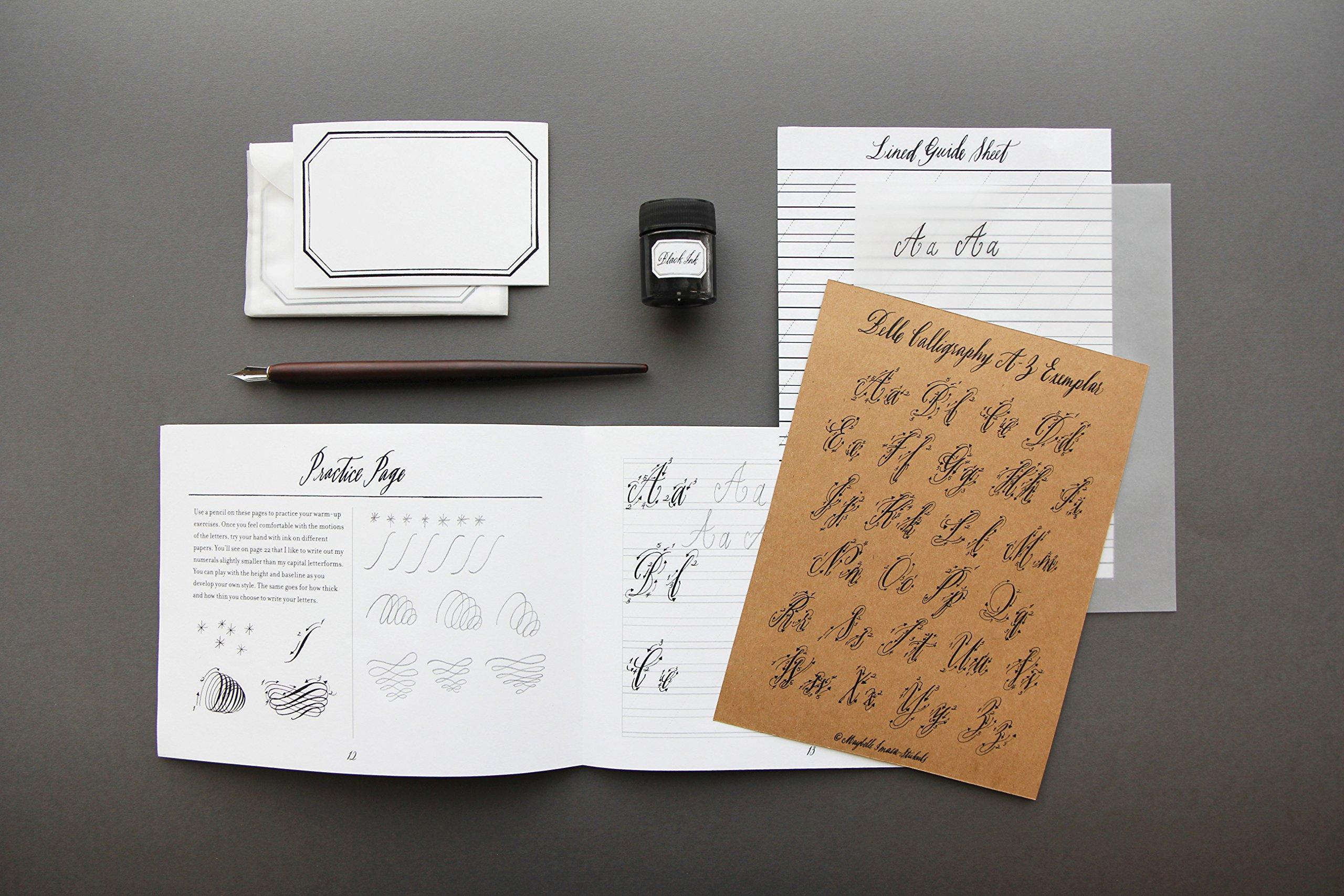 Hostess gift idea Belle Calligraphy Kit