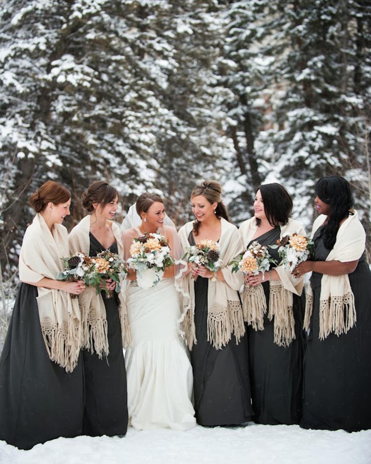 7 Simple Ways to Make Your Winter Wedding Cozy