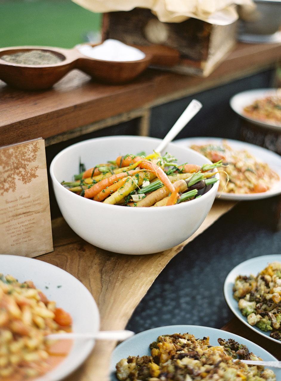 wedding carrot dish