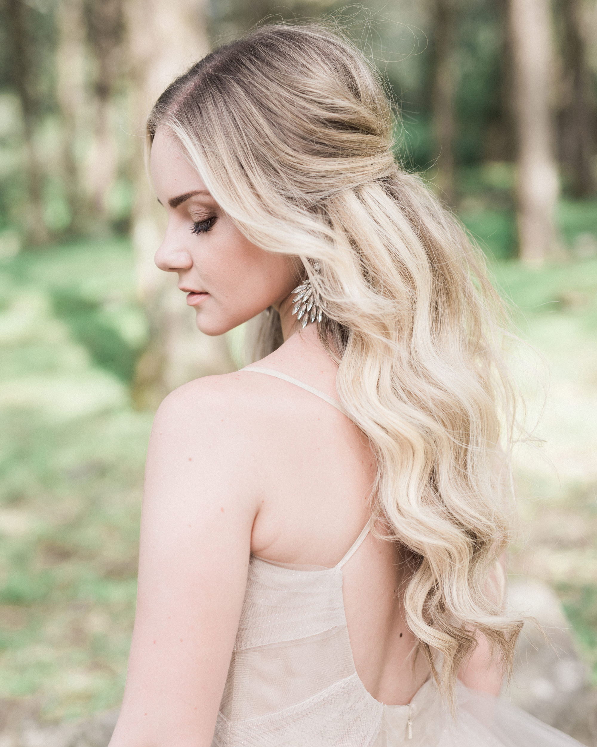 Wedding Hairstyles Down Curly: Half-Up, Half-Down Wedding Hairstyles We Love