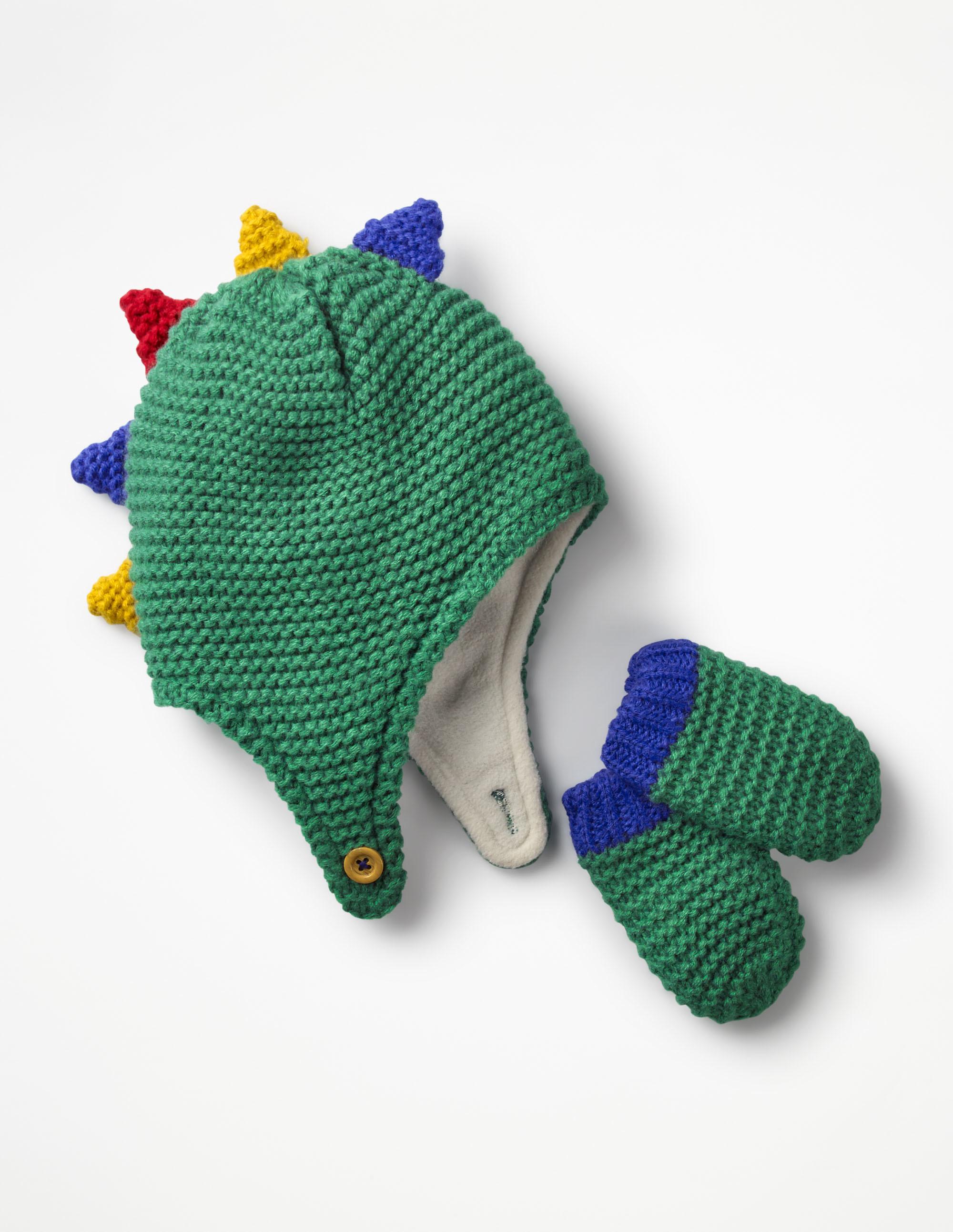ring bearer gift guide boden dinosaur hat and gloves