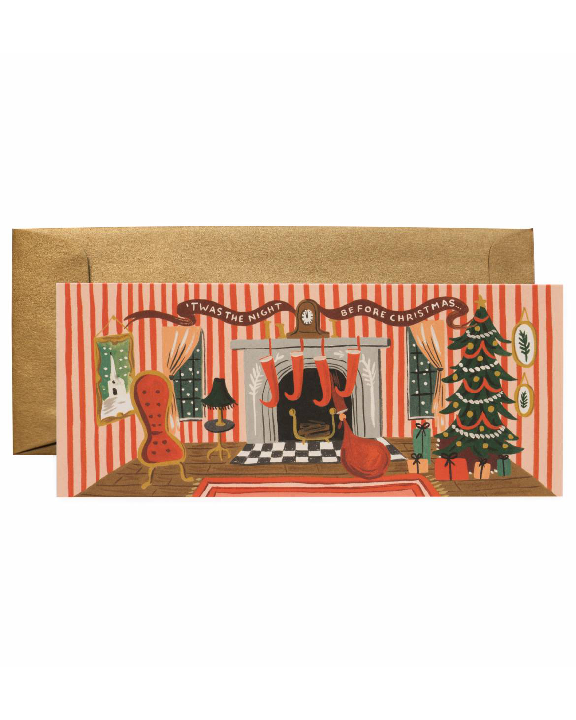 holiday card rifle paper co night before christmas